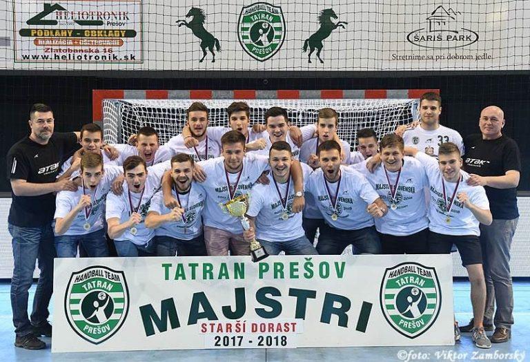 Tatran Prešov - starší dorast