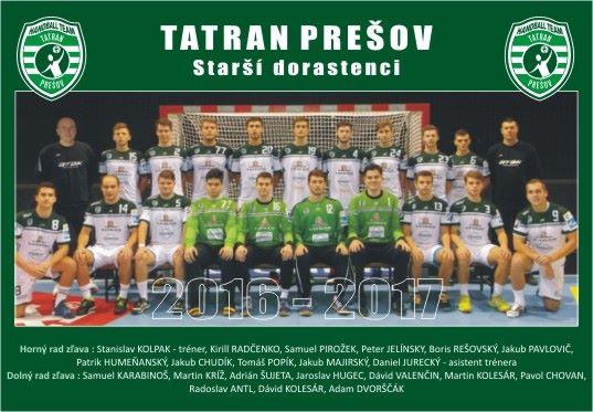 Tatran Prešov - mladší dorastenci 2017