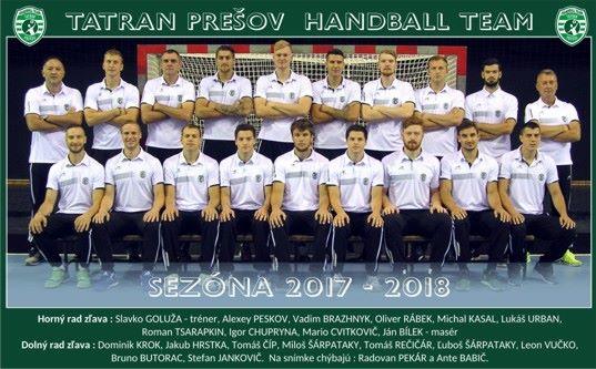 Tatran Prešov muži 2017