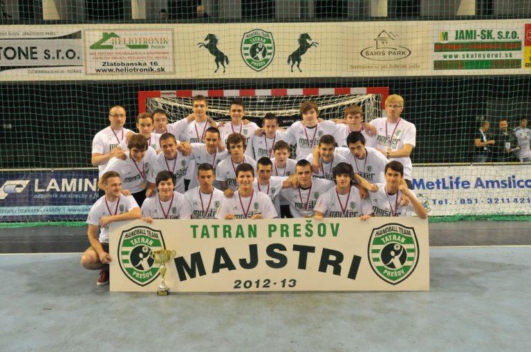 Tatran Prešov - mladší dorastenci 2013