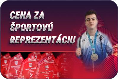 Športovec Prešova 2019 - Cena za športovú reprezentáciu