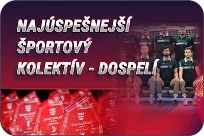 Športovec Prešova 2019 - športový kolektív dospelí