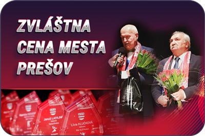 Športovec Prešova 2019 - zvláštna cena mesta Prešov
