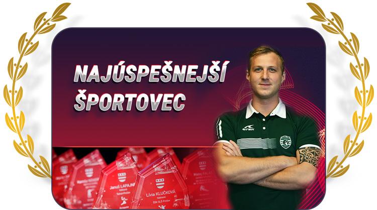 Športovec Prešova 2019 - Igor Čupryna