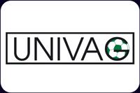 UNIVAG logo - športovec Prešova partner